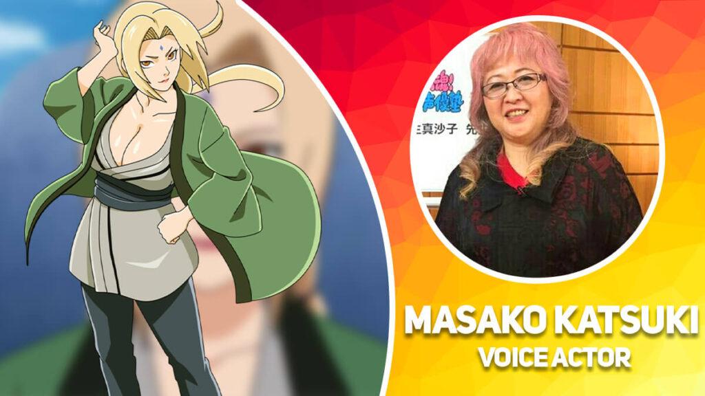 Tsunade Senju - Masako Katsuki