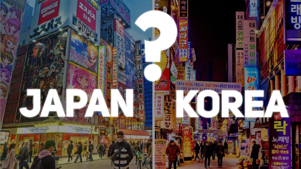 japan korea