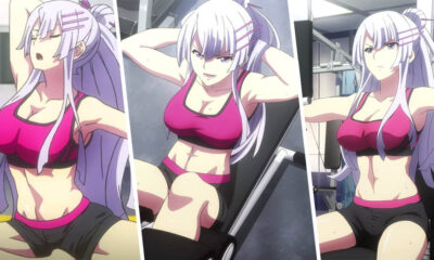 Super Cute & Hot Muscular Girl In Anime