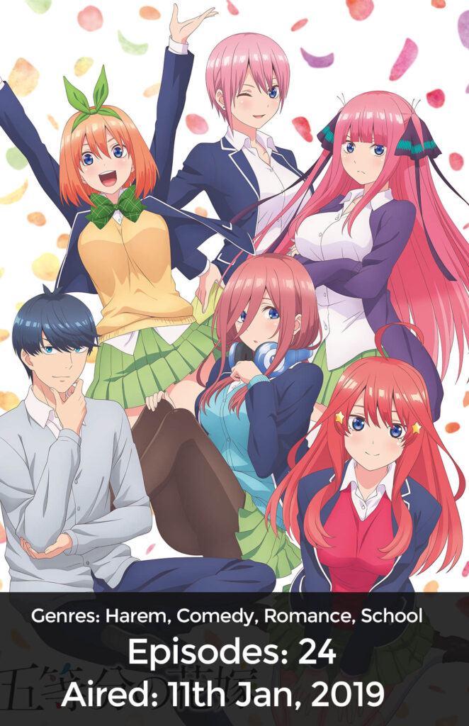 The Quintessential Quintuplets Cover