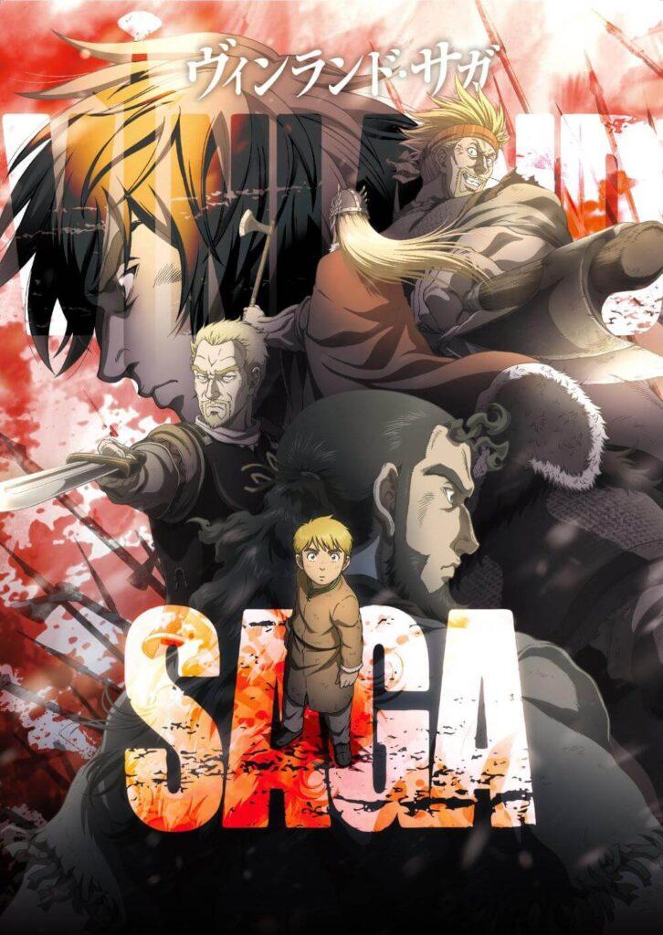 Vinland Saga Anime Poster